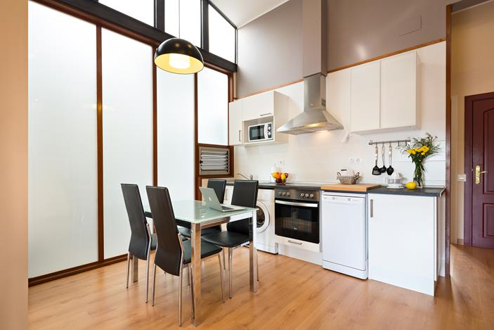 Holiday apartments with a terrace in barcelona lugaris for Kitchen gadgets barcelona