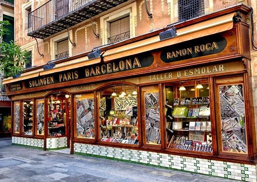 oldest shops in Barcelona- ganiveteria Roca