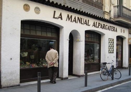 oldest shops in Barcelona- manual Alpargatera