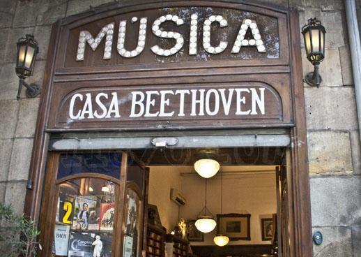 oldest shops in barcelona - Casa Beethoven