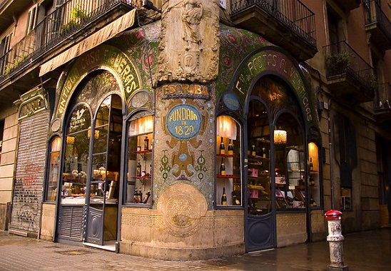 oldest shops in Barcelona - Escribà