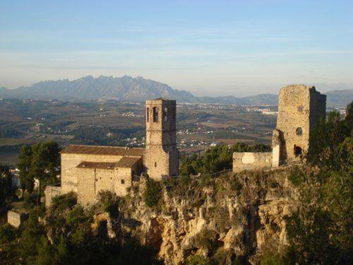 castles near barcelona, gelida