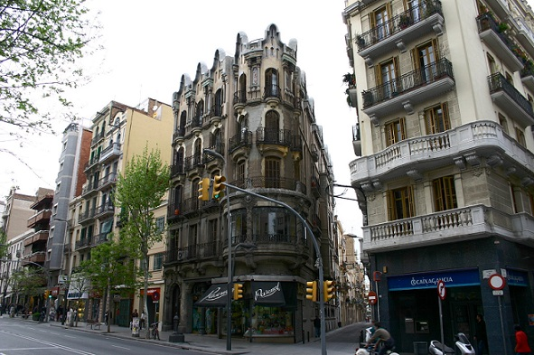 Carrer de Sants. Barcelona