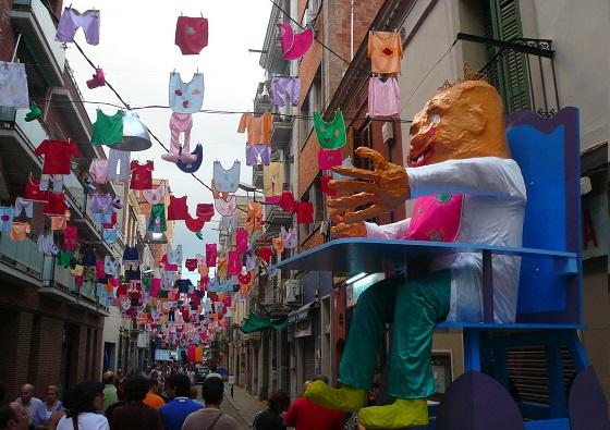 Festes de Sants. Barcelona